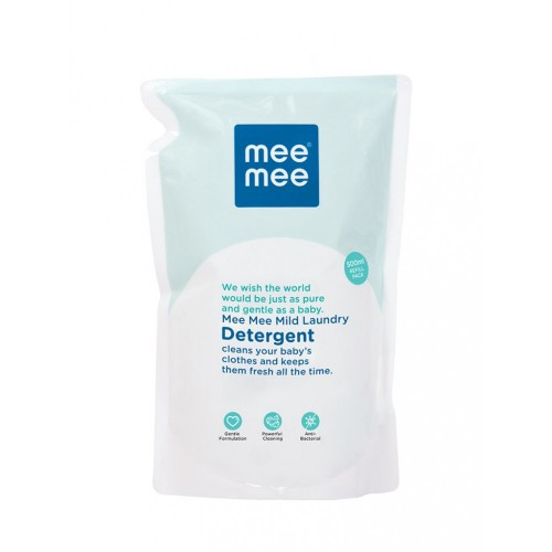 Mee Mee Mild Baby Laundry Detergent (Refill Pack) (500ml)