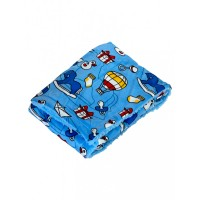Mee Mee Double Layer Soft Baby Blanket, Dark Blue