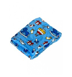 Buy Mee Mee Double Layer Soft Baby Blanket, Dark Blue Online in India