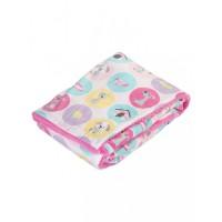Mee Mee Double Layer Soft Baby Blanket, Dark Pink