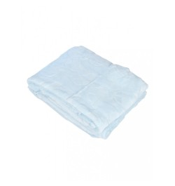 Buy Mee Mee Double Layer Soft Baby Blanket with Embossed Printing, Blue Online in India