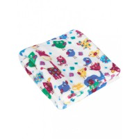Mee Mee Soft Snuggly Baby Blanket, Dark Blue
