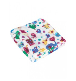 Buy Mee Mee Soft Snuggly Baby Blanket, Dark Blue Online in India
