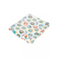 Mee Mee Soft Snuggly Baby Blanket, Light Blue