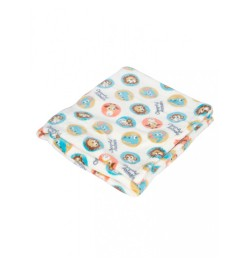 Buy Mee Mee Soft Snuggly Baby Blanket, Light Blue Online in India