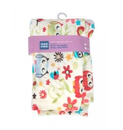 Buy Mee Mee Soft Snuggly Baby Blanket, Red Online in India