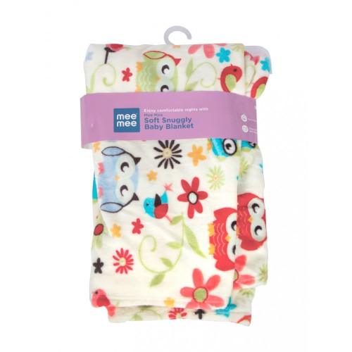 Mee Mee Soft Snuggly Baby Blanket, Red