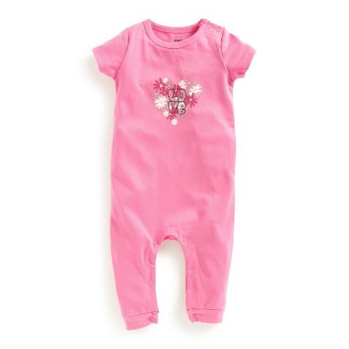 Mee Mee Half Sleeve Romper (Pink)
