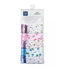 Mee Mee 100% Cotton Baby Girl Bloomers (Pack of 5) (Assorted Flowers/12-18m)