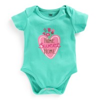 Mee Mee Half Sleeve Bodysuit (Light Green)