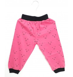 Buy Krunchy Pajama / Legging with Rib for Baby and Kids - Baby Pink Online in India