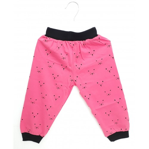 Krunchy Pajama / Legging with Rib for Baby and Kids - Baby Pink