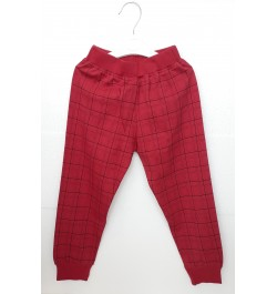 Buy Pajama / Legging with Rib for Baby and Kids - Maroon Online in India