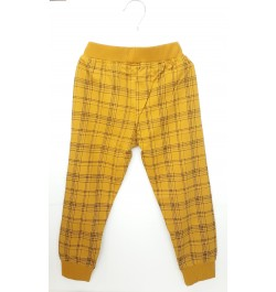Buy Pajama / Legging with Rib for Baby and Kids - Yellow Online in India