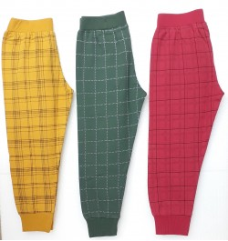 Buy Pajama / Legging with Rib for Infant and Kids - Pack of 3 Online in India