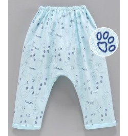Buy Pink Rabbit Diaper Legging Kitty Print - Blue Online in India