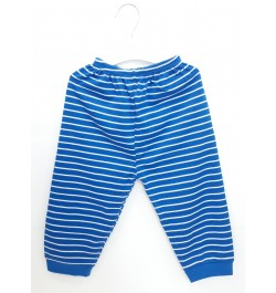 Zero Pajama / Legging with Rib for Baby and Kids - Blue