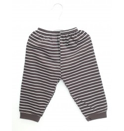 Zero Pajama / Legging with Rib for Baby and Kids - Grey