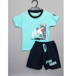 Buy Little Mee kids top tee with shorts Online in India