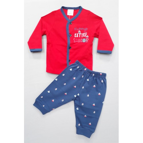 Tom and Jerry Tee and Pajama - Little sailor - Red