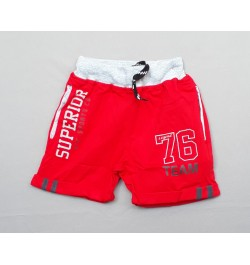Buy Krunchy Boy's Half Pant -  Red Online in India