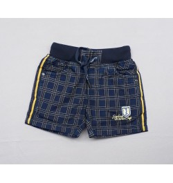 Buy TXXI Baby Shorts - Blue Checks Online in India