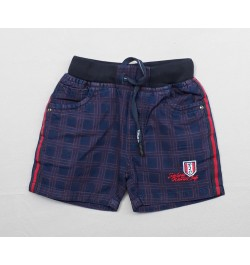Buy TXXI Indigo Check Boys Shorts Online in India