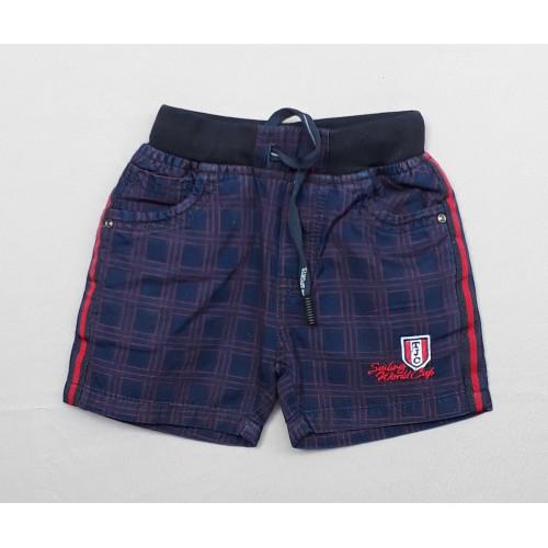TXXI Indigo Check Boys Shorts