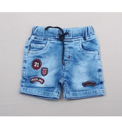 Buy TXXI Lycra Denim Shorts - Blue Online in India