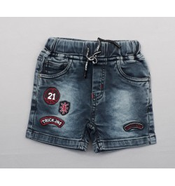 Buy TXXI Lycra Denim Shorts - Grey Online in India