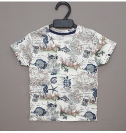 Cucumber Boys Tops Half Sleeves - Printed