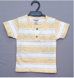 Cucumber Boys Tops Half Sleeves - Yellow