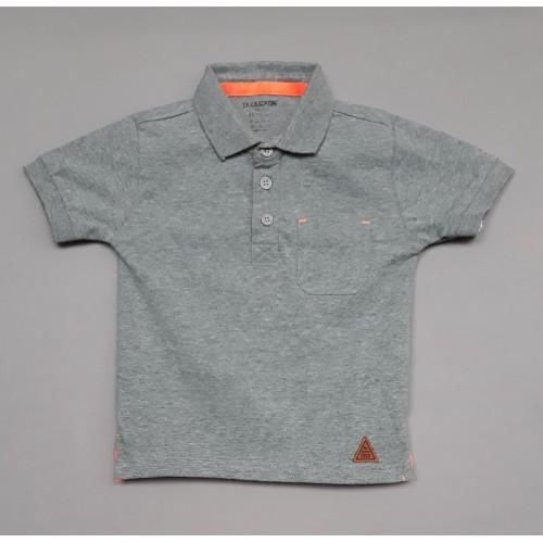 Cucumber Club Boys T-Shirt - Grey