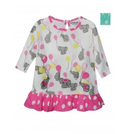 Buy Doreme Printed Frock - Baby Elephant Online in India