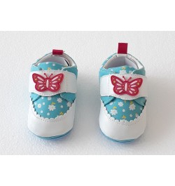 Buy Q-Club Soft Shoes for Infants - Light Blue Online in India