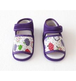 Duck Baby Sandals for Infants - Purple
