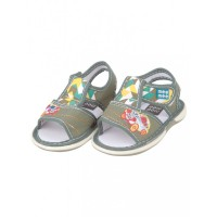 Mee Mee First Walk Baby Sandals with Chu Chu Sound (Car Embroidery)