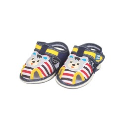 Mee Mee First Walk Baby Sandals with Chu Chu Sound (Stripes)