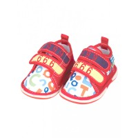 Mee Mee First Walk Baby Shoes with Chu Chu Sound (Number Print)