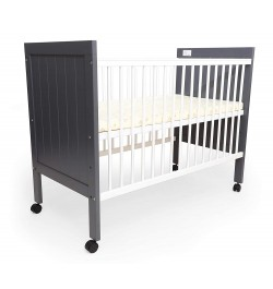 Buy R for Rabbit Baby's Den Wooden Baby Cot | Cribs | Bed with Mattress Online in India
