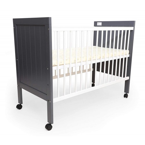 R for Rabbit Baby's Den Wooden Baby Cot | Cribs | Bed with Mattress