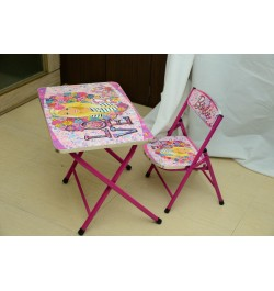 Buy Ramson Barbie Folding Table and Chair Online in India