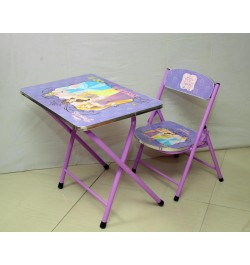Ramson Disney Princess Folding Table and Chair