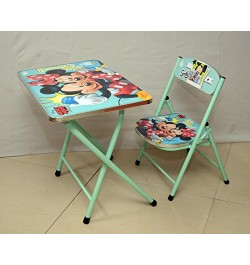 Buy Ramson Mickey Mouse Folding Table and Chair Online in India