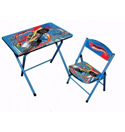 Buy Ramson Hot Wheels Folding Table and Chair Online in India