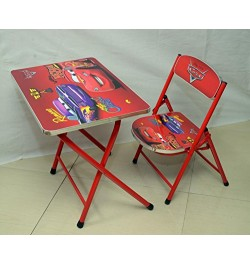 Buy Ramson Disney Pixar Cars Folding Table and Chair Online in India