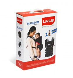 Buy Luvlap Blossom Baby Carrier – Black Online in India