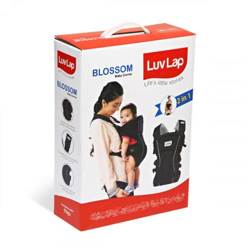 Luvlap Blossom Baby Carrier – Black