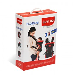 Buy Luvlap Blossom Baby Carrier – Red + Black Online in India