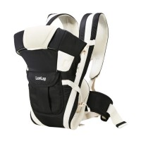 Luvlap Elegant Baby Carrier – Black